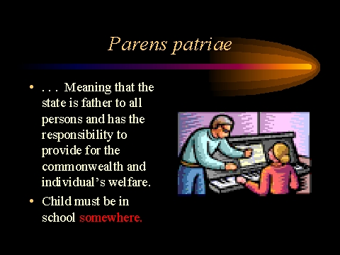 parens patriae history Class actions have long been contracting as procedural vehicles in mass tort litigation at the same time, parens patriae actions brought by state attorneys gen.