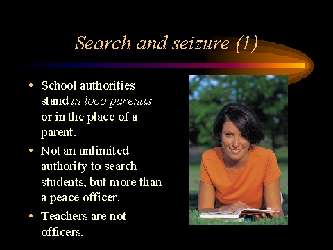 search and seizure thesis Reserved thesis topics 2010-2011 [as of mar 26 2011– 11:38 pm] the following are the thesis topics that havebeen reserved so far this year pleas.